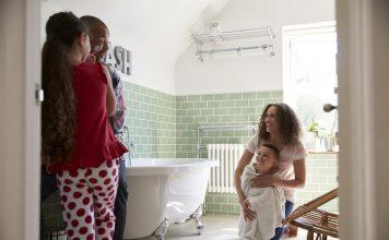 Make your bathroom family friendly