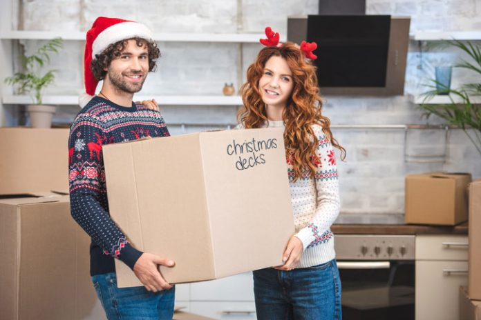 Moving home at Christmas